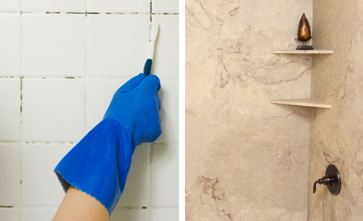 Grout Free Surfaces Shower Wallbathtubshower Floorvanities - How to clean bathroom wall tiles easily