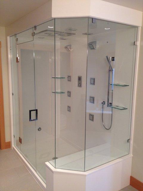Steam shower 1 for Build steam shower