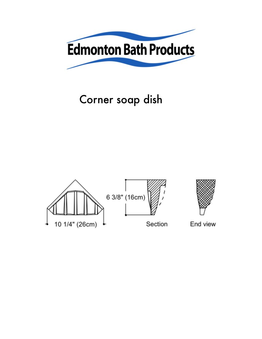 Bathroom Accessories Edmonton edmonton bath accessories - corner soap dishes, corner seats