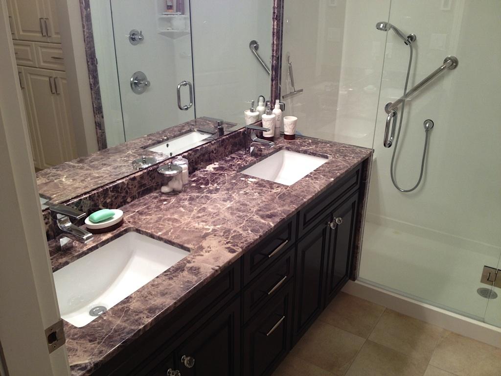 Bathroom Vanity Top Surfaces